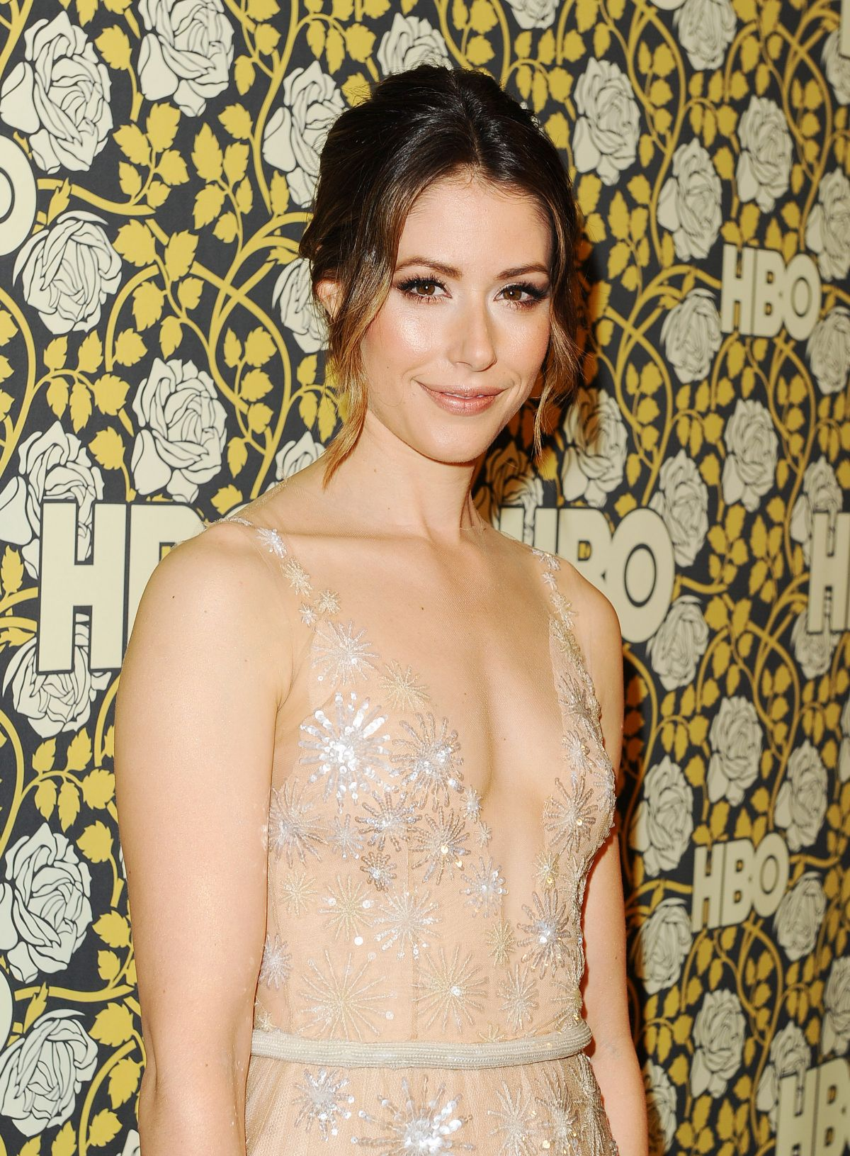 AMANDA CREW at HBO Golden Globe 2016 Afterparty in Beverly Hills 01/10/2016