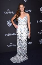 AMANDA RIGHETTI at Instyle and Warner Bros. 2016 Golden Globe Awards Post-party in Beverly Hills 01/10/2016