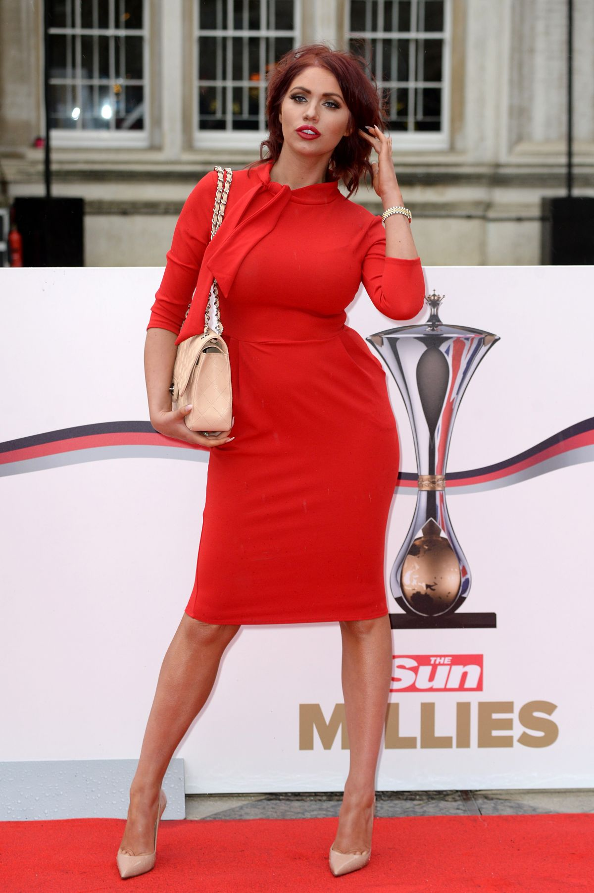 AMY CHILDS at The Sun Military Awards in London 01/22/2016
