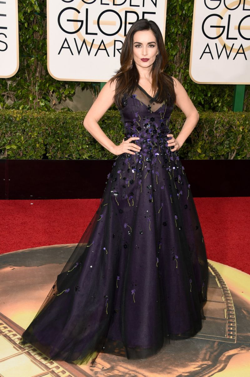 ANA DE LA REGUERA at 73rd Annual Golden Globe Awards in Beverly Hills 10/01/2016