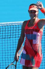ANA IVANOVIC at 2016 ASB Classic in Auckland 01/04/2016