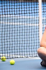 ANA IVANOVIC at Practice Session in Auckland 01/03/2016