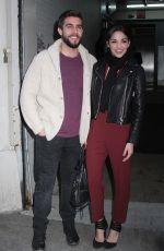 ANA VILLAFANE Arrives at AOL Studio in New York 01/28/2016