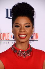 ANGEL PARKER at American Crime Story: The People V.O.J. Simpson Premiere 01/27/2016