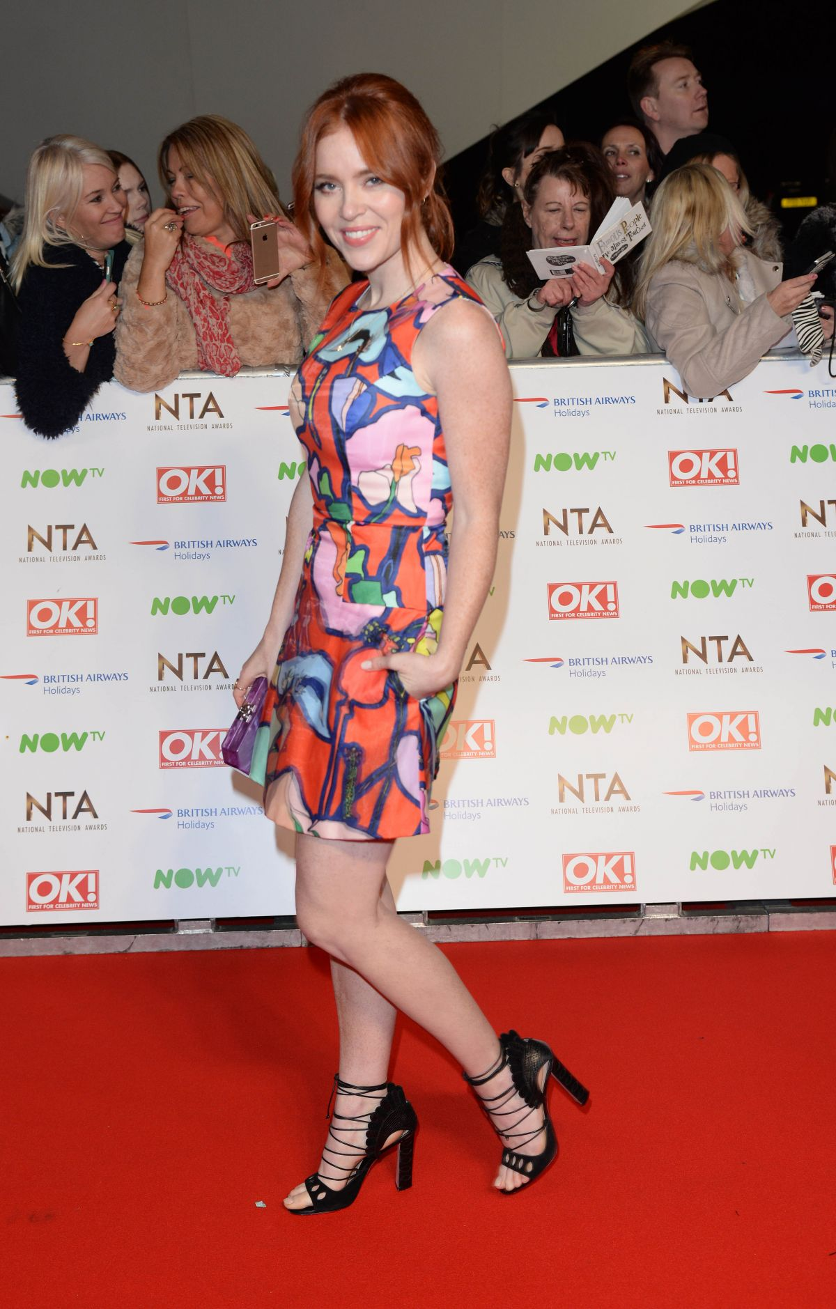 ANGELA SCANLON at 2016 National Television Awards in London 01/20/2016