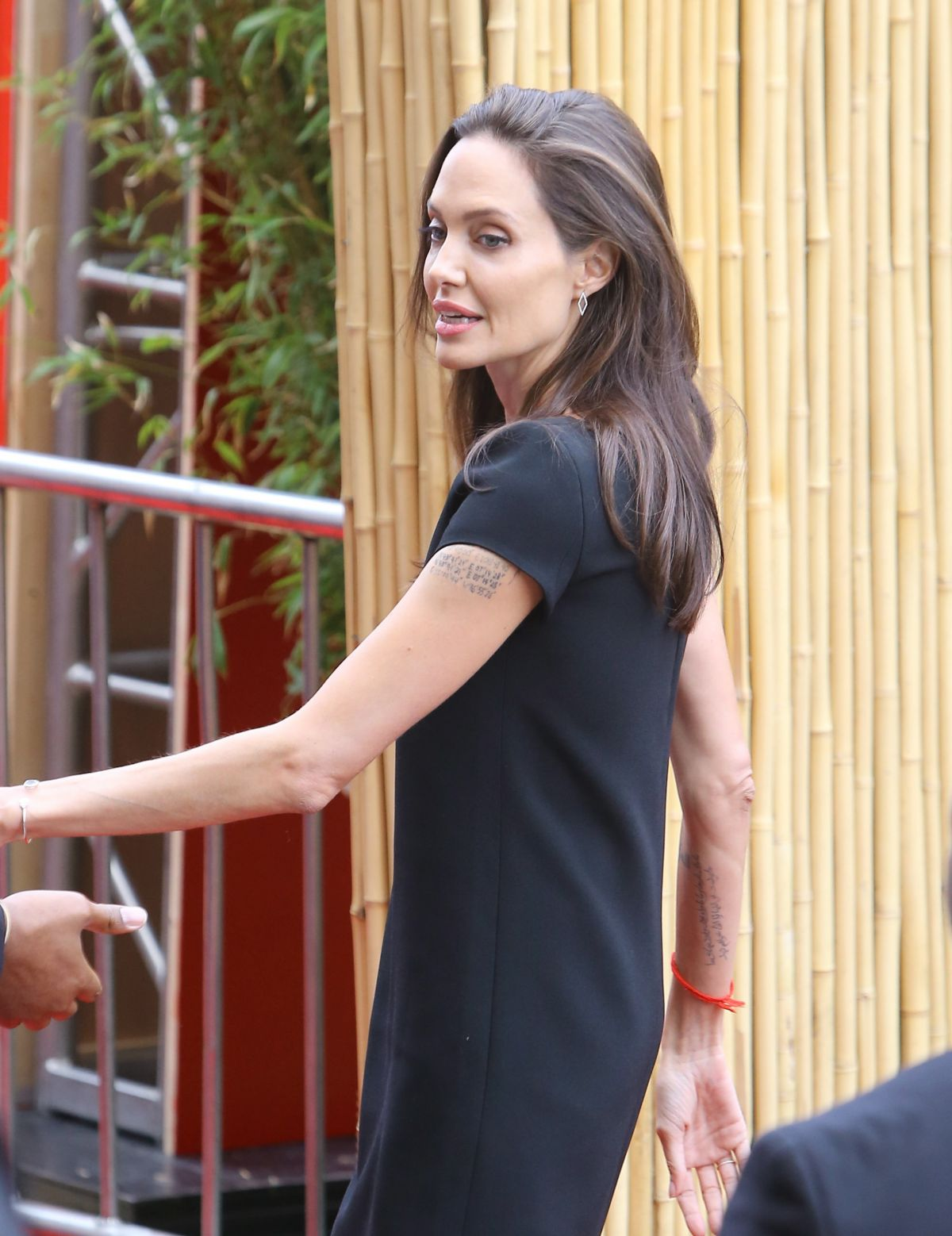 ANGELINA JOLIE Arrives at Kung Fu Panda 3 Premiere in Hollywood 01/16/2016