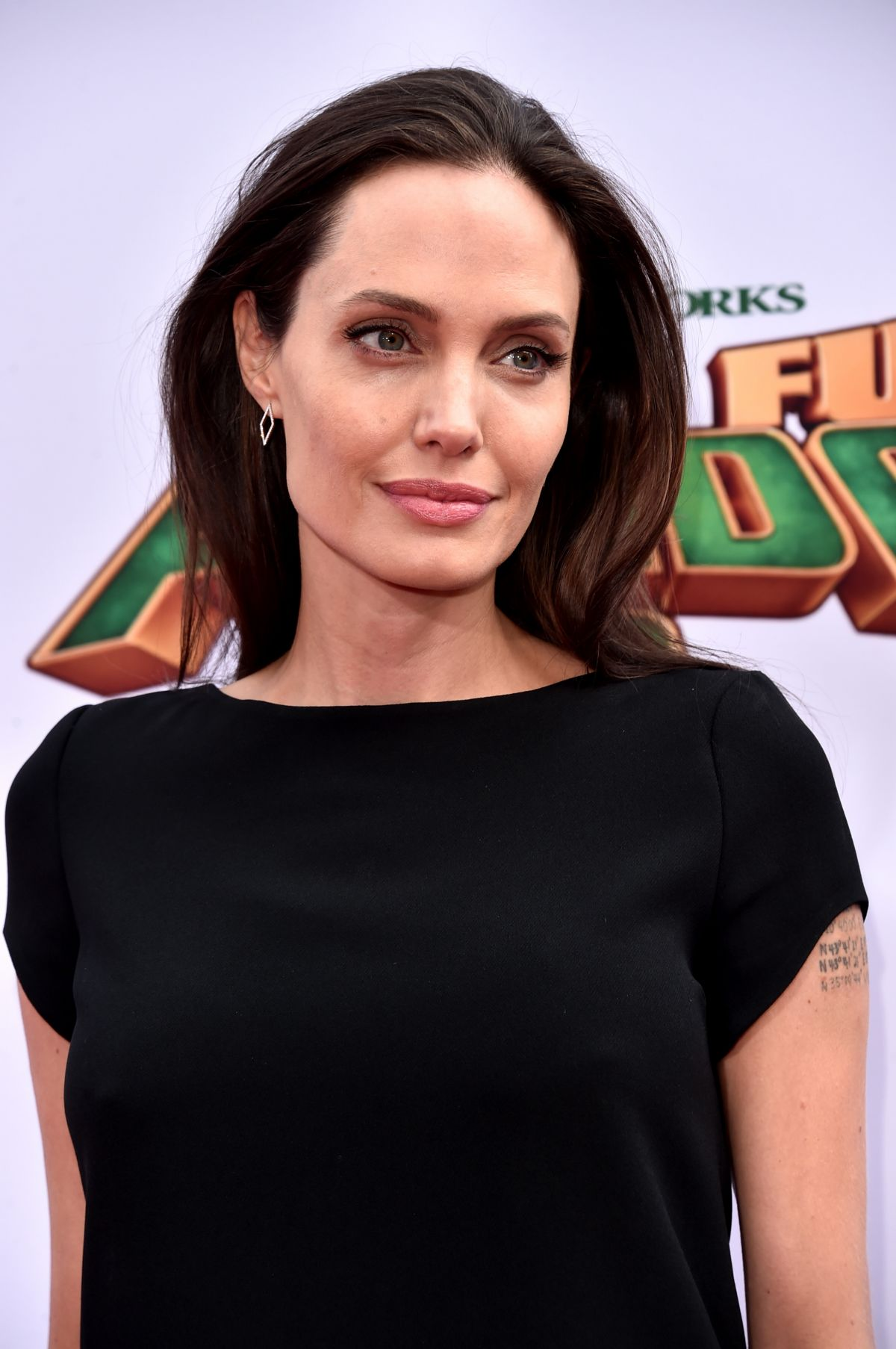 ANGELINA JOLIE at Kung Fu Panda 3 Premiere in Hollywood 01/16/2016 ...
