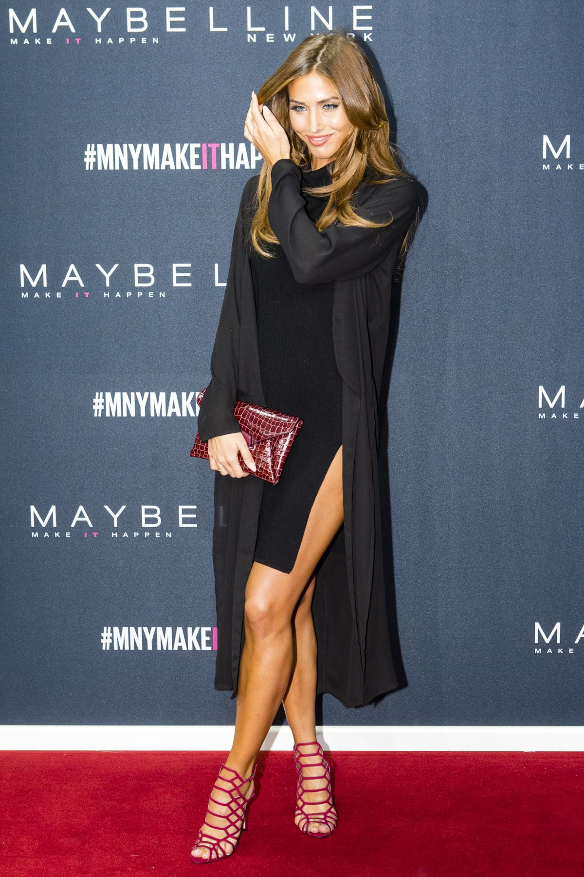 ANN KATHRIN BROMMEL at The Power of Colors – Maybelline New York Make-up Runaway