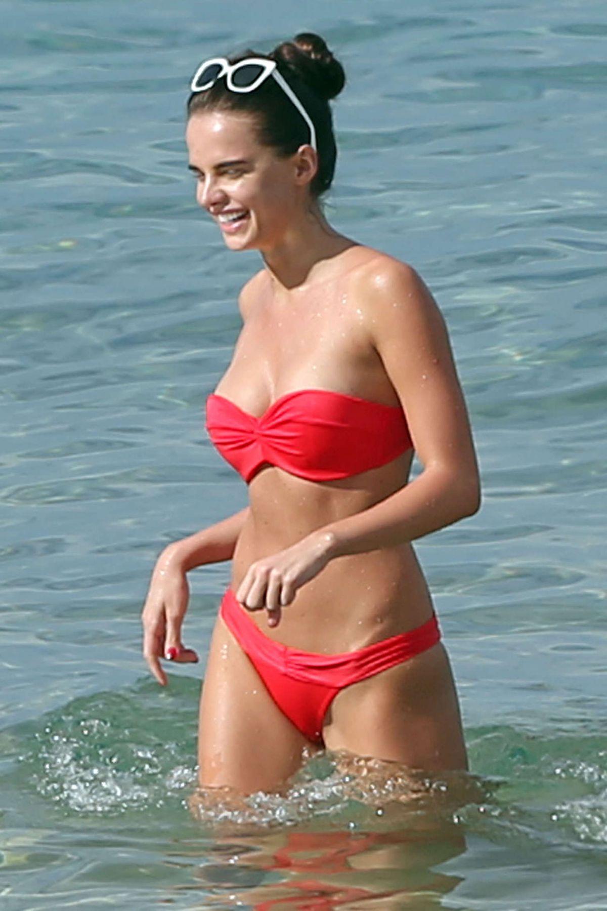 ANNA ANDRES in Bikini in Maui