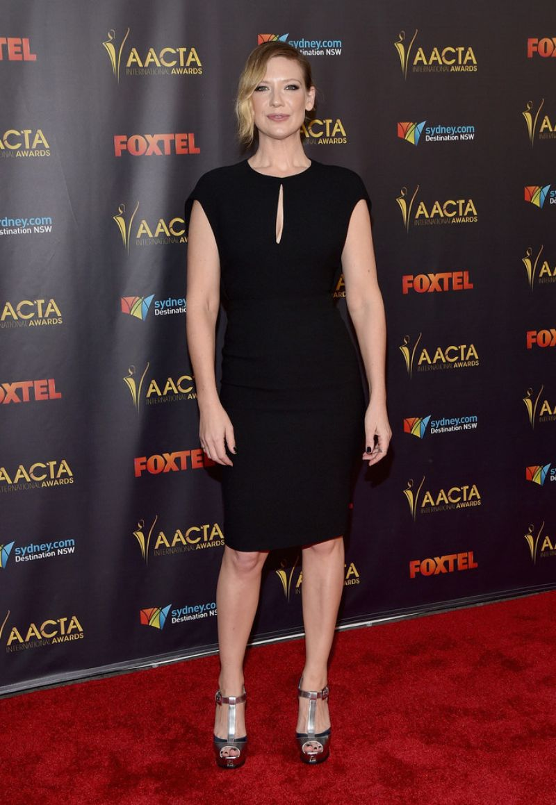 ANNA TORV at 5th aacta International Awards in Los Angeles 01/29/2016