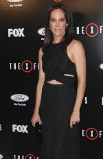 ANNABETH GISH at Season Premiere of The X-Files at The California Science Center 01/12/2016