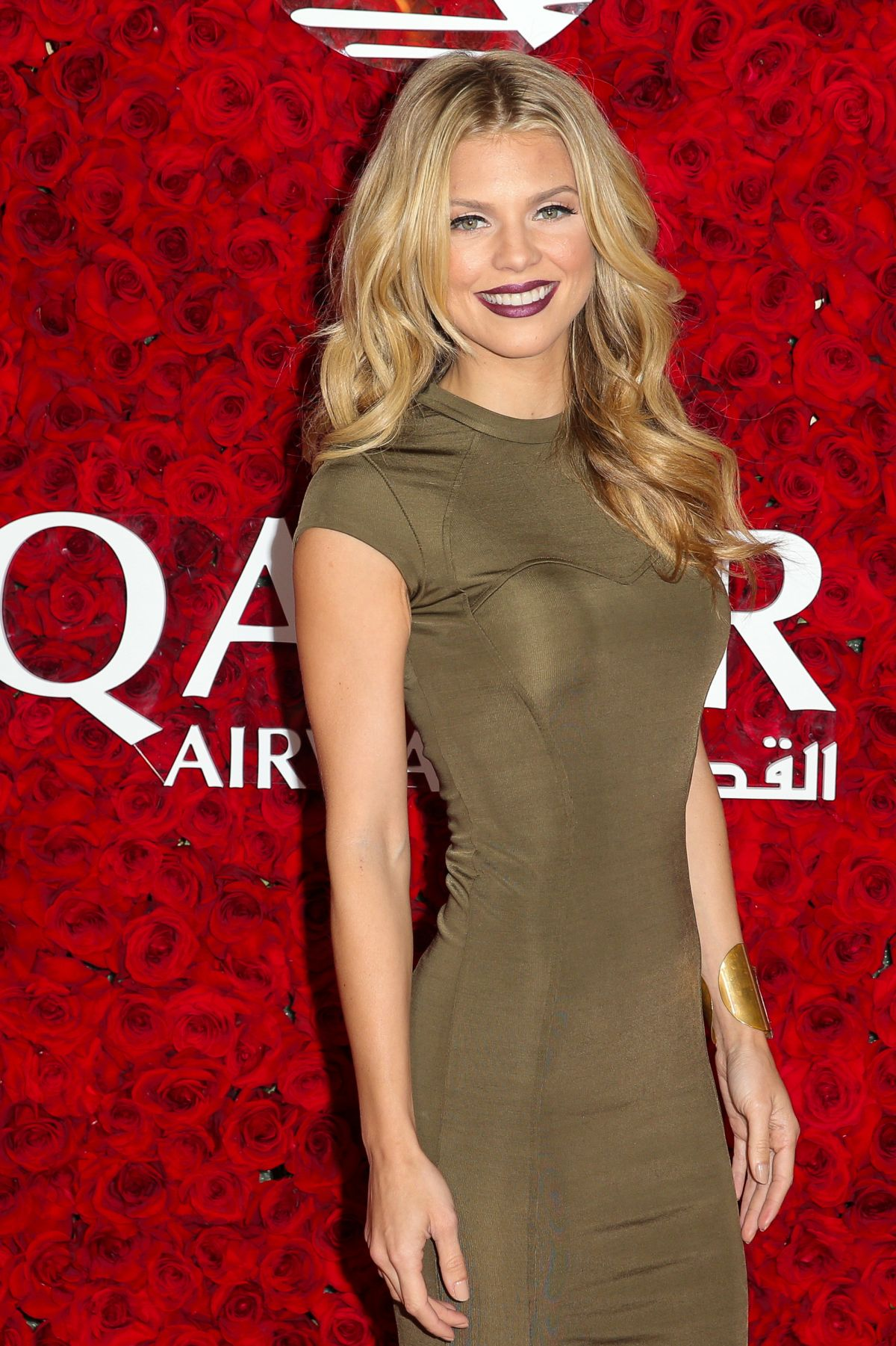 ANNALYNNE MCORD at Qatar Airways Los Angeles Gala 01/12/2016