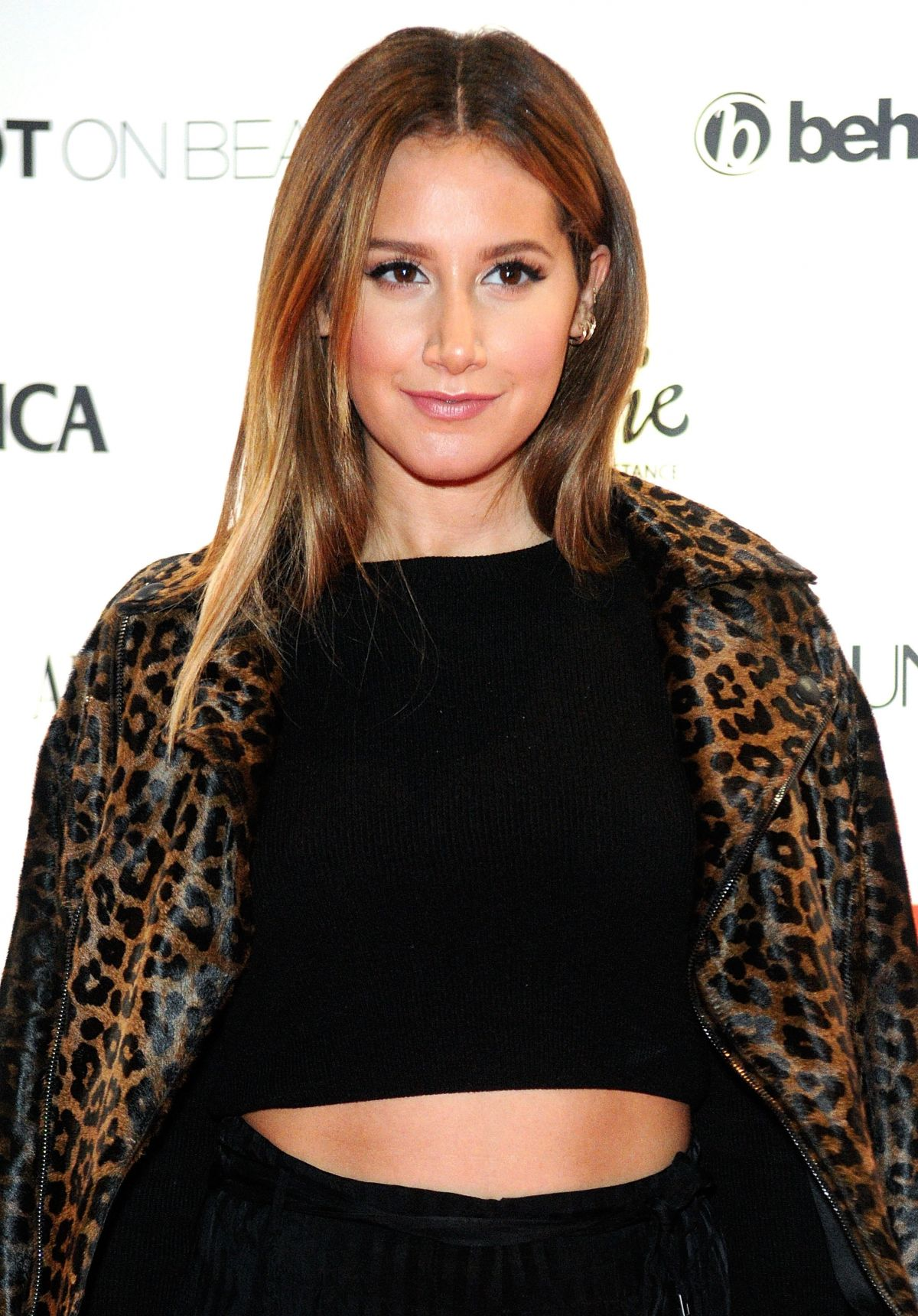 ASHLEY TISDALE at Matrix Total Results Reinvention in Orlando 01/23 ...