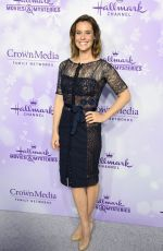 ASHLEY WILLIAMS at Hallmark Channel Party at 2016 Winter TCA Tour in Pasadena 01/08/2016