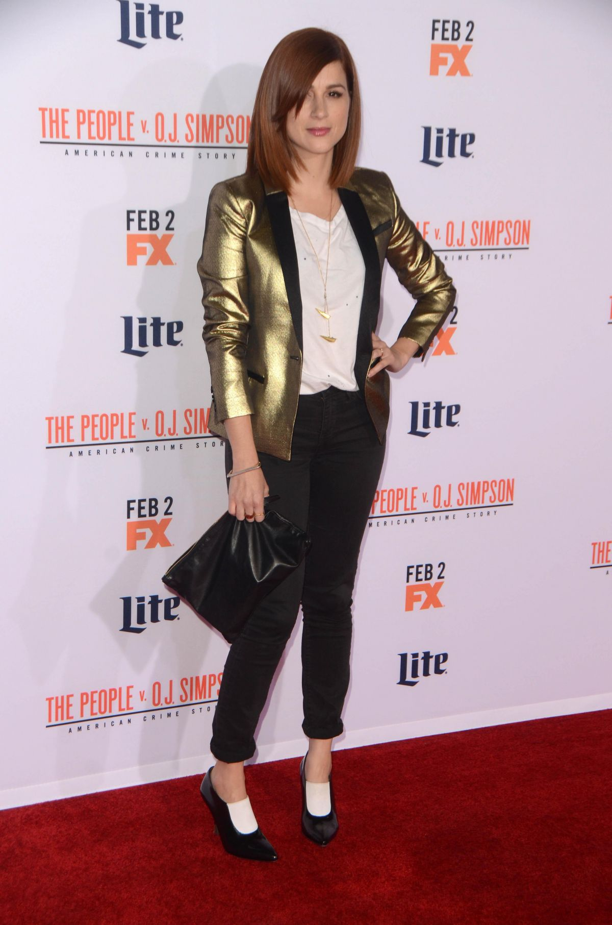 AYA CASH at American Crime Story: The People V.O.J. Simpson Premiere 01/27/2016