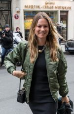 BEHATI PRINSLOO Out and Abou in Paris 01/24/2016