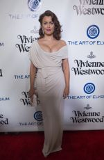 BELLAMY YOUNG at The Art of Elysium 2016 Heaven Gala in Culver City 01/09/2016