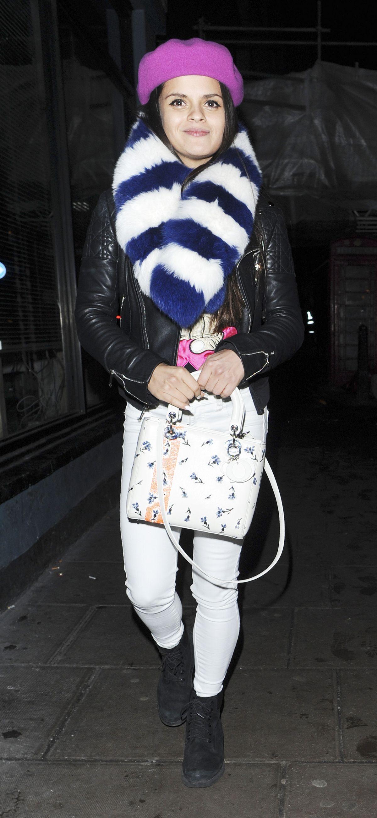 BIP LING Leaves Groucho Club in London 01/22/2016