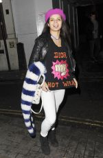 BIP LING Leaves Groucho Club in London 01/22/2016