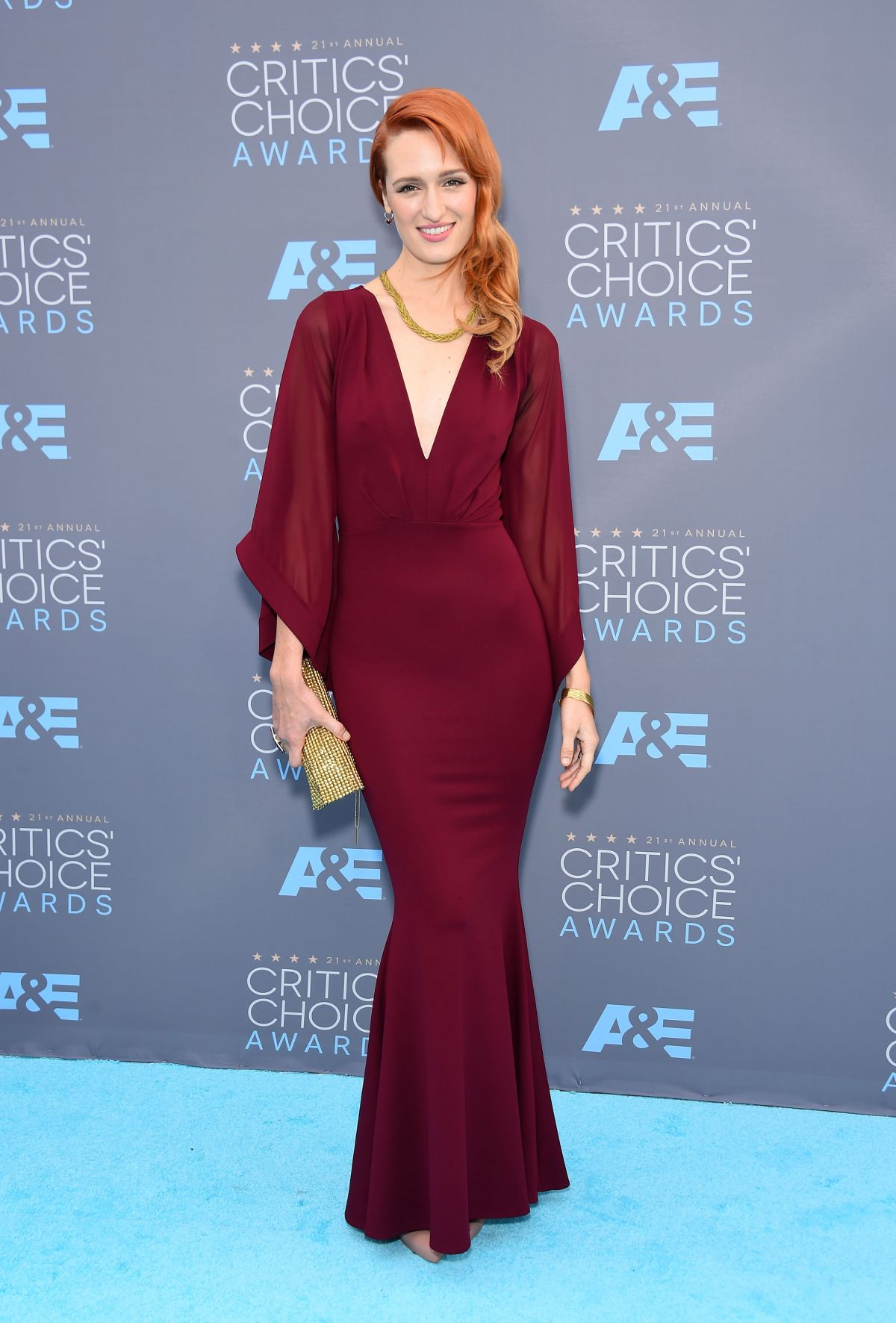 BREEDA WOOL at Critics's Choice Awards 2016 in Santa Monica 01/17/2016
