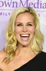 BROOKE BURNS at Hallmark Channel Party at 2016 Winter TCA Tour in Pasadena 01/08/2016