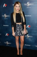 BROOKE SORENSON at The 5th Wave Premiere in Los Angeles 01/14/2016