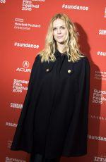 BROOKLYN DECKER at Lovesong Premiere at 2016 Sundance Film Festival 01/25/2016
