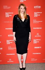 BRYCE DALLAS HOWARD at Southside With You Premiere at 2016 Sundance Film Festival 01/24/2016