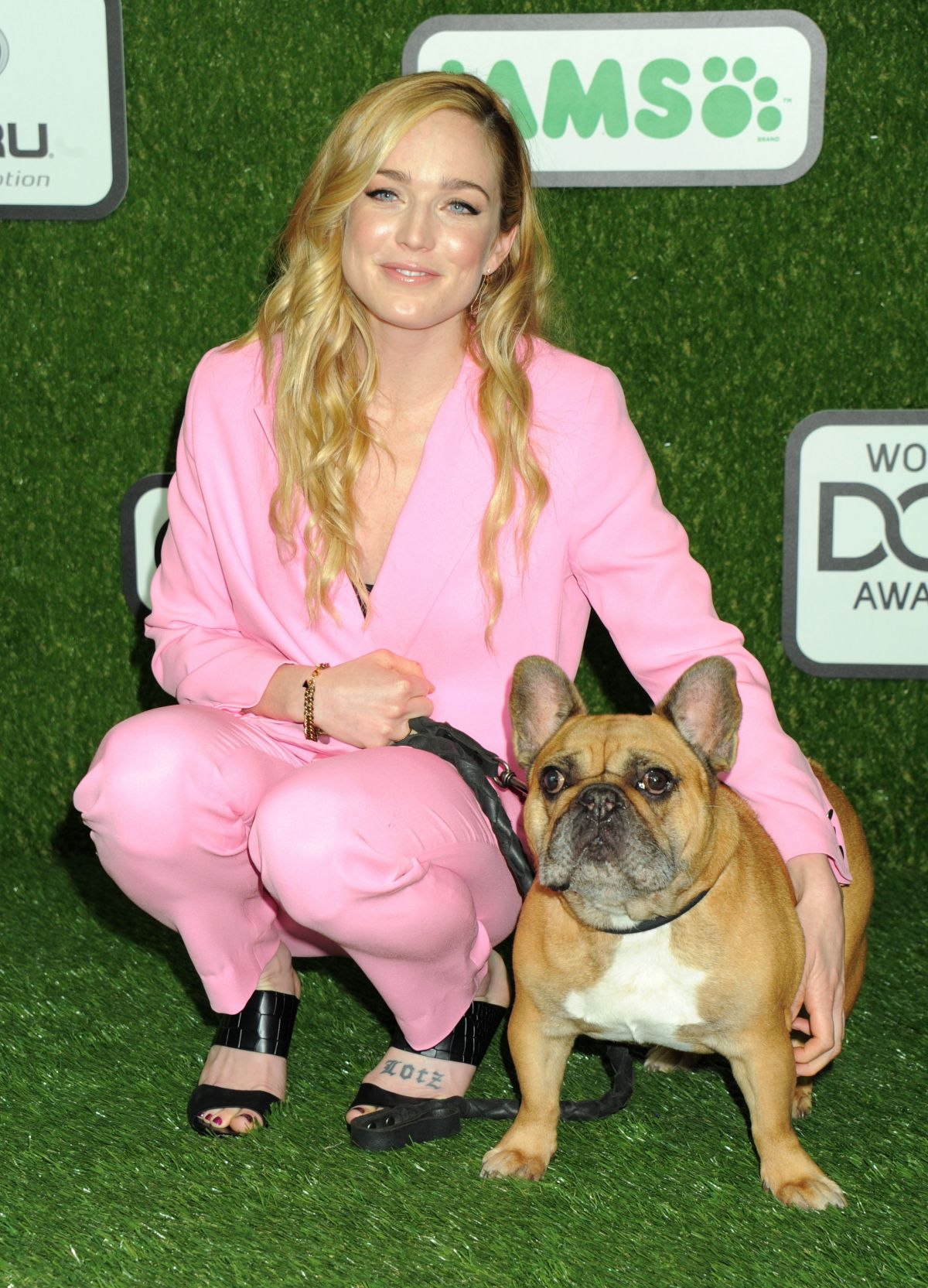 CAITY LOTZ at 2016 World Dog Awards in Santa Monica 01/09/2016