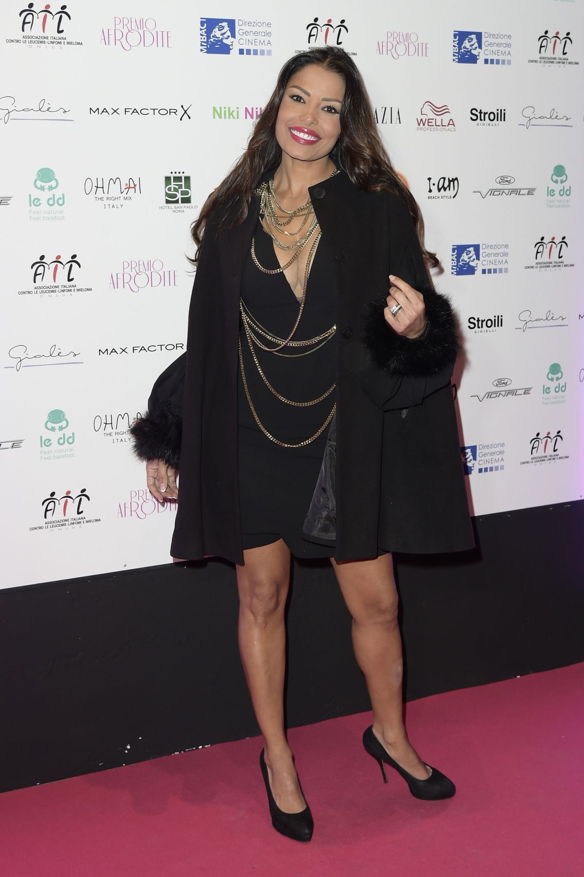 CAROLINA MARCONI at Premio Afrodite in Rome 01/13/2016