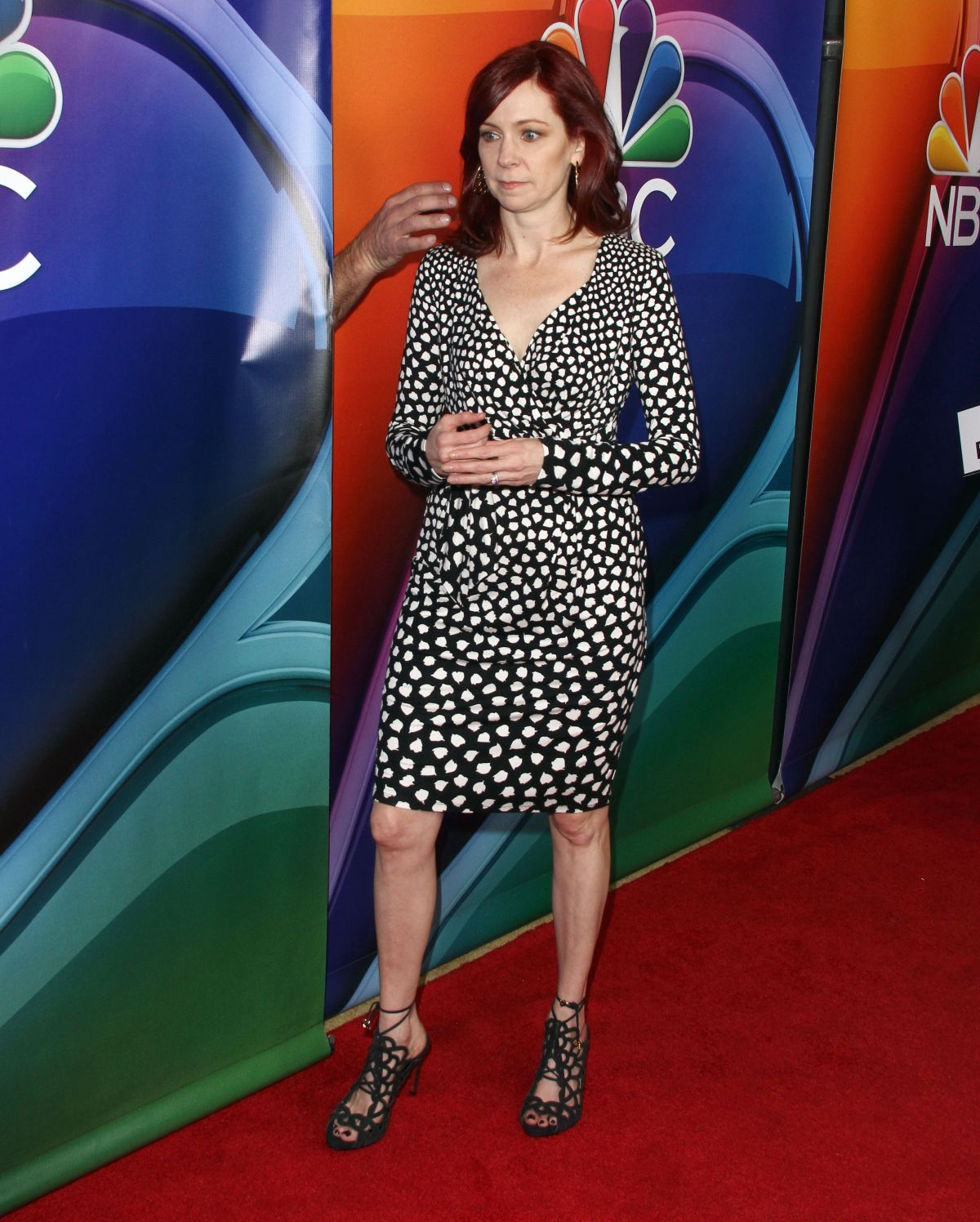 CARRIE PRESTON at NBC/Universal 2016 Winter TCA Tour in Pasadena 01/13/2016