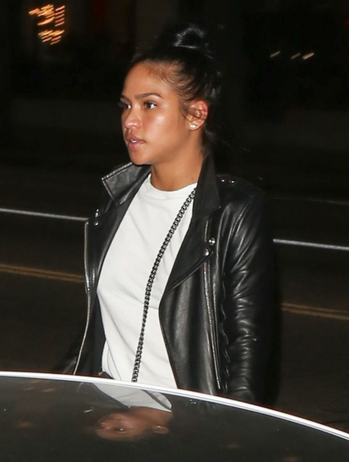 CASSIE VENTRUA at Katsuya Restaurant in Los Angeles 01/14/2016