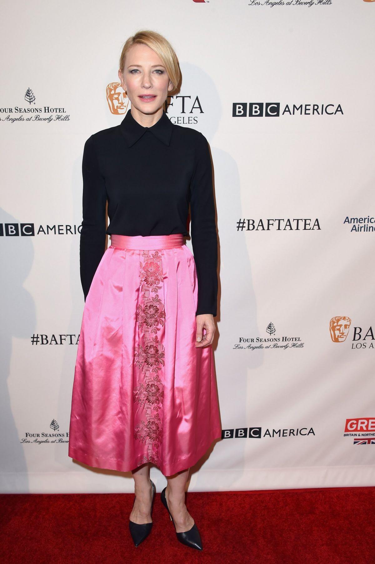 CATE BLANCHETT at BAFTA Los Angeles Awards Season Tea in ... Cate Blanchett 2016