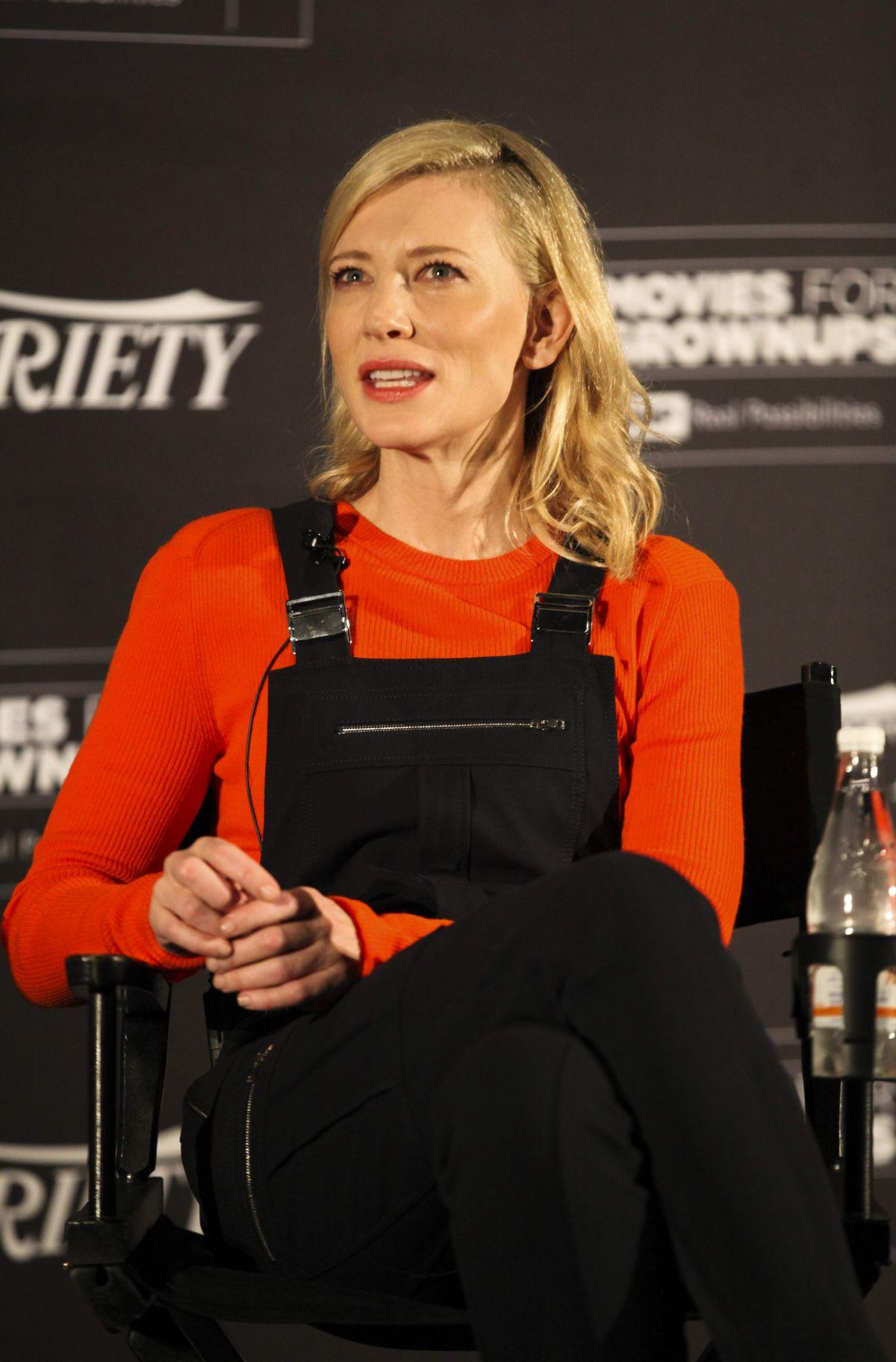 CATE BLANCHETT at Carol Screening Series 01/06/2016 ... Cate Blanchett 2016