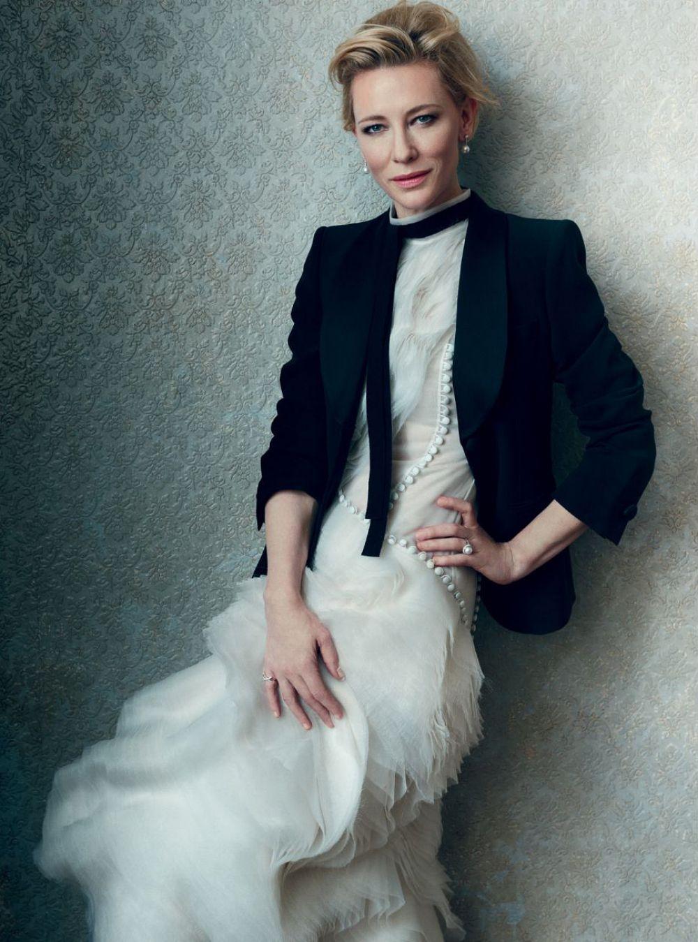 CATE BLANCHETT in Harper's Bazaar Magazine, February 2016 ... Cate Blanchett 2016