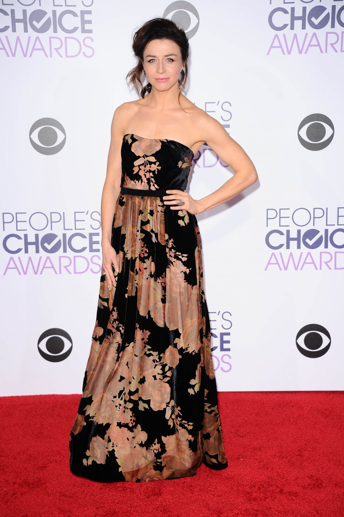 CATERINA SCORSONE at 2016 People's Choice Awards in Los Angeles 01/06/2016