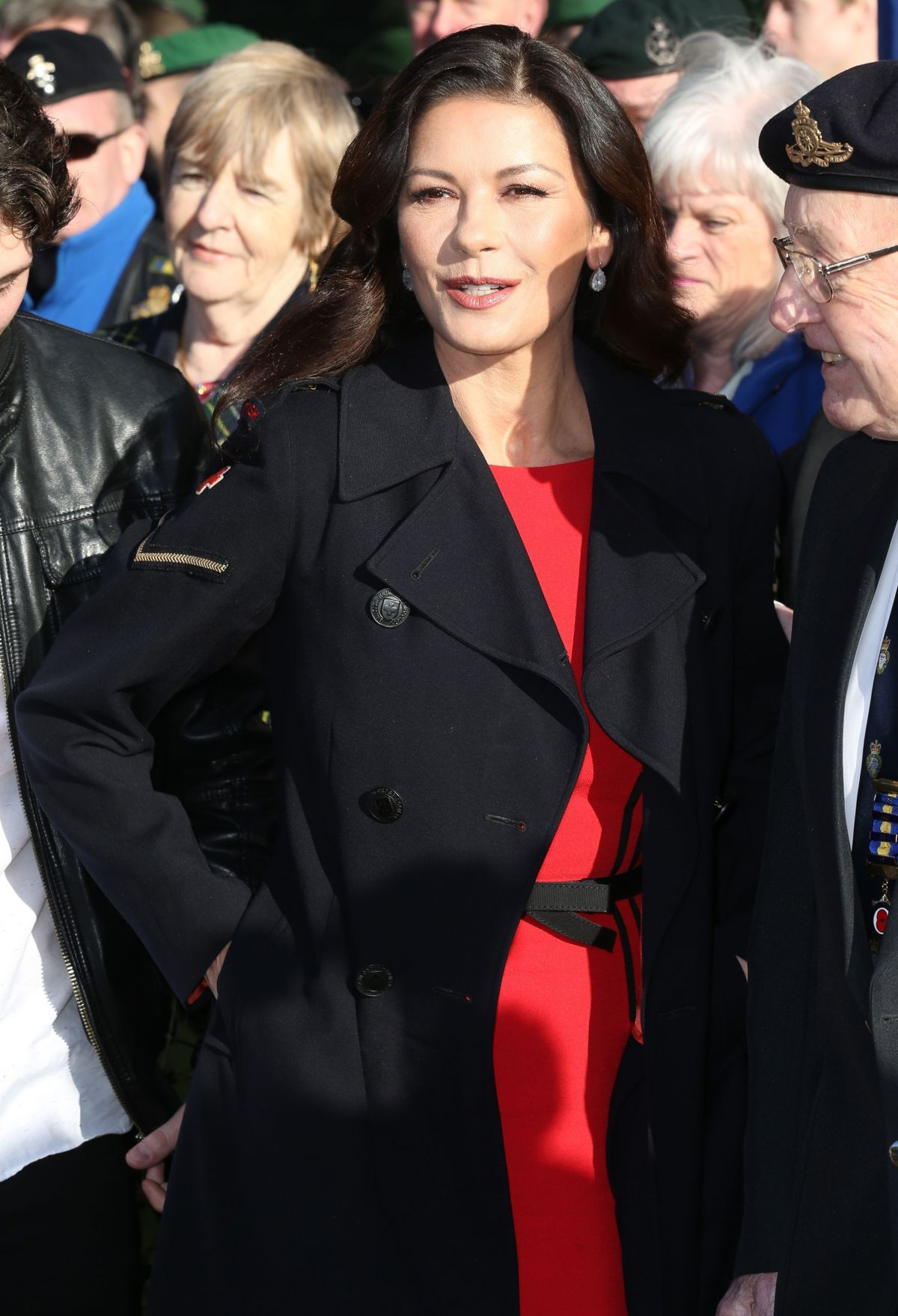 CATHERINE ZETA JONES at Dad