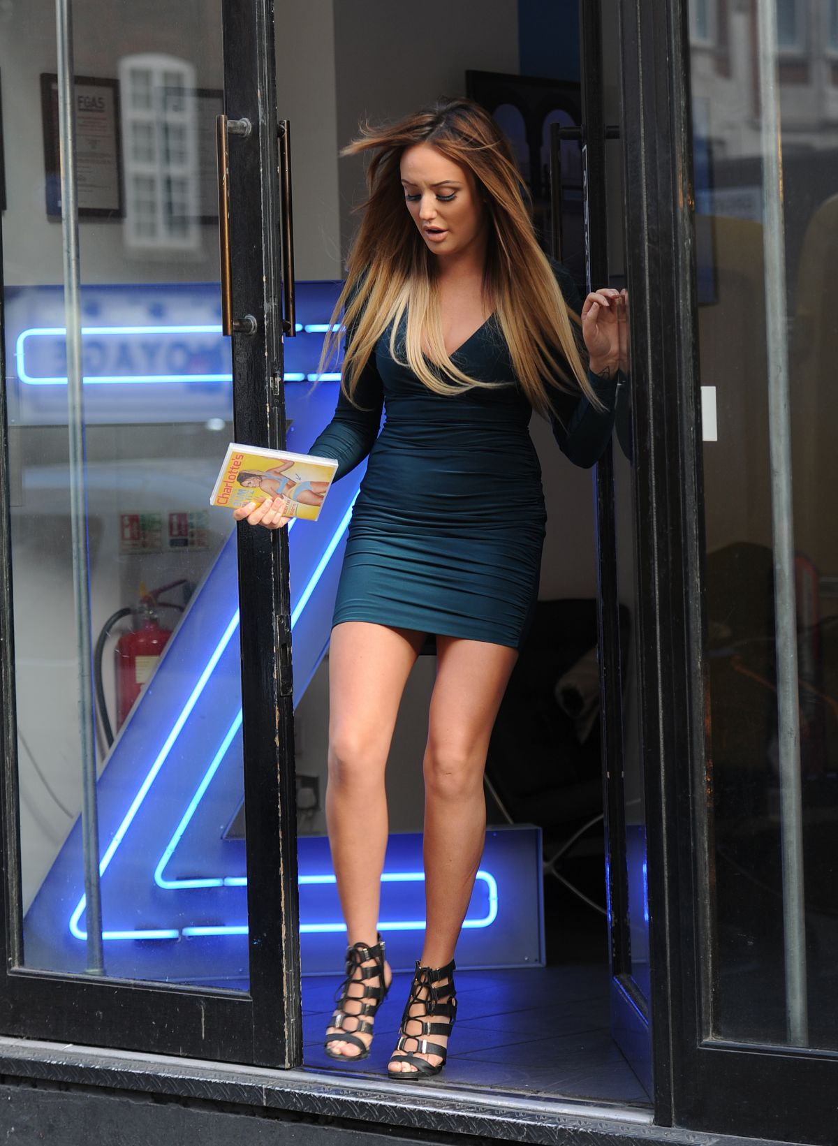 Charlotte Crosby Promotes Her Fitness Dvd In London 01 04