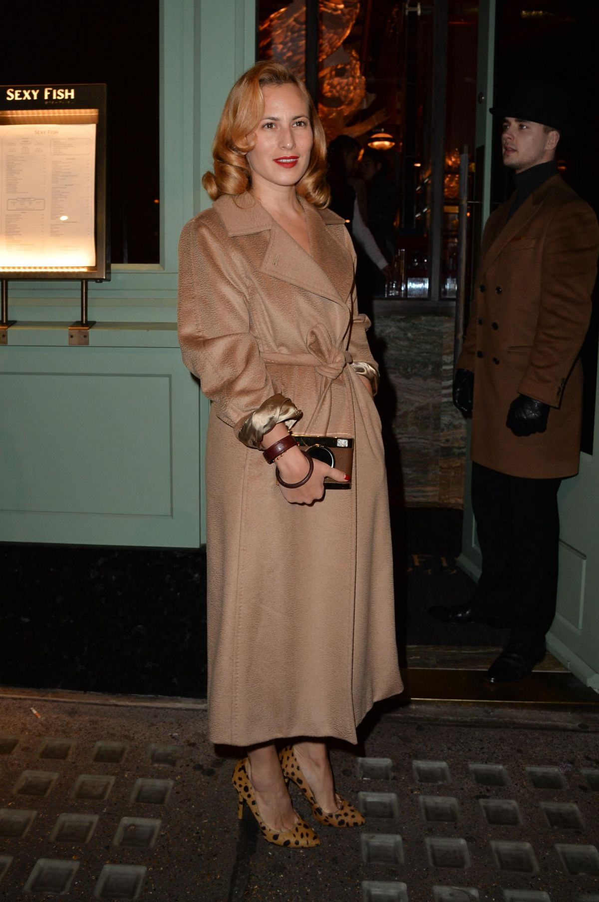CHARLOTTE DELLAL at a Private Dinner of Creme De La Mer in London 01/21/2016