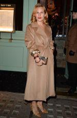 CHARLOTTE DELLAL at a Private Dinner of Creme De La Mer in London 01/21/2016