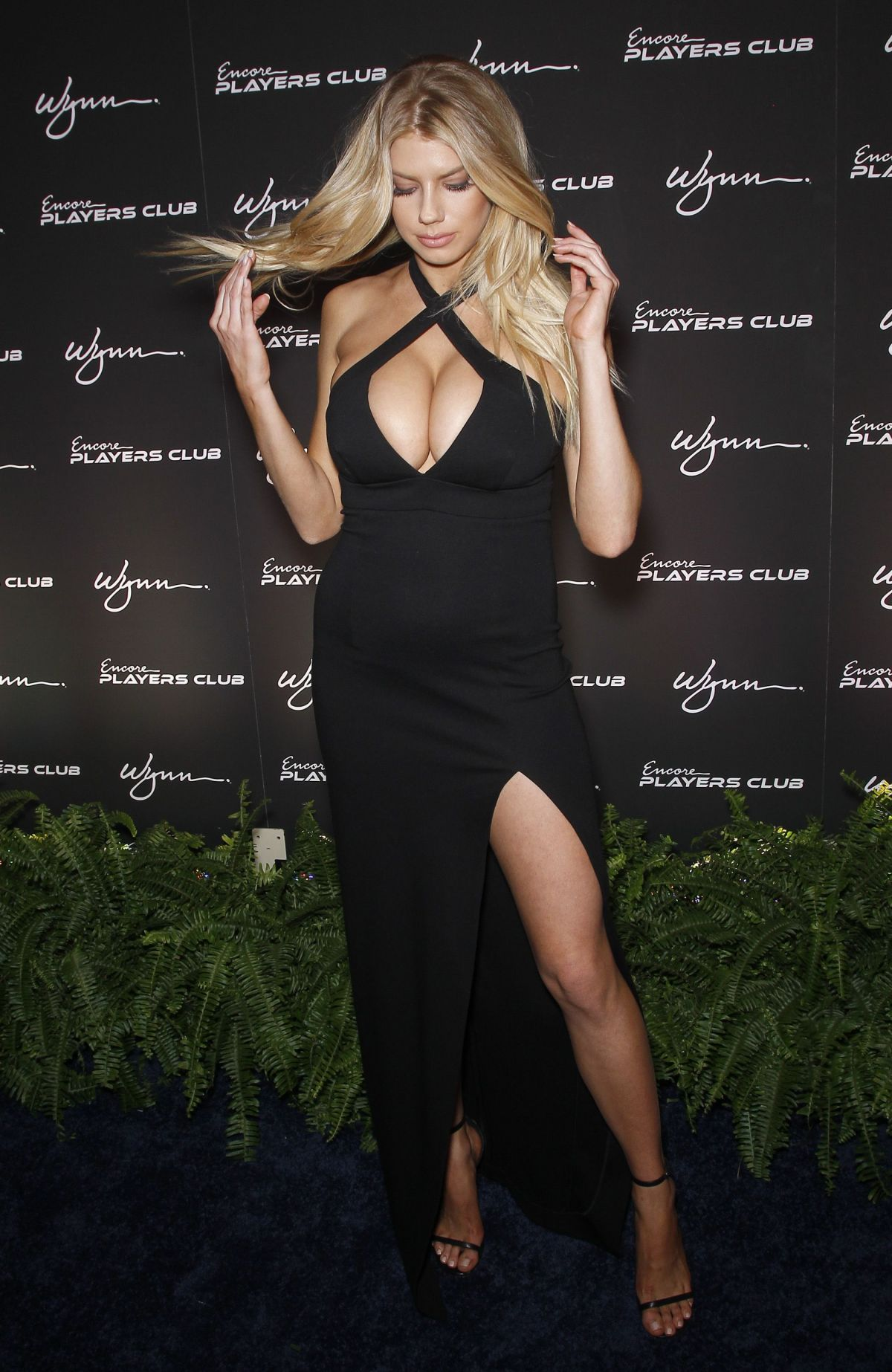 Charlotte Mckinney At Encore Player S Club Grand Opening