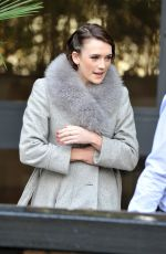 CHARLOTTE RITCHIE Leaves ITV Studios in London 01/14/2016
