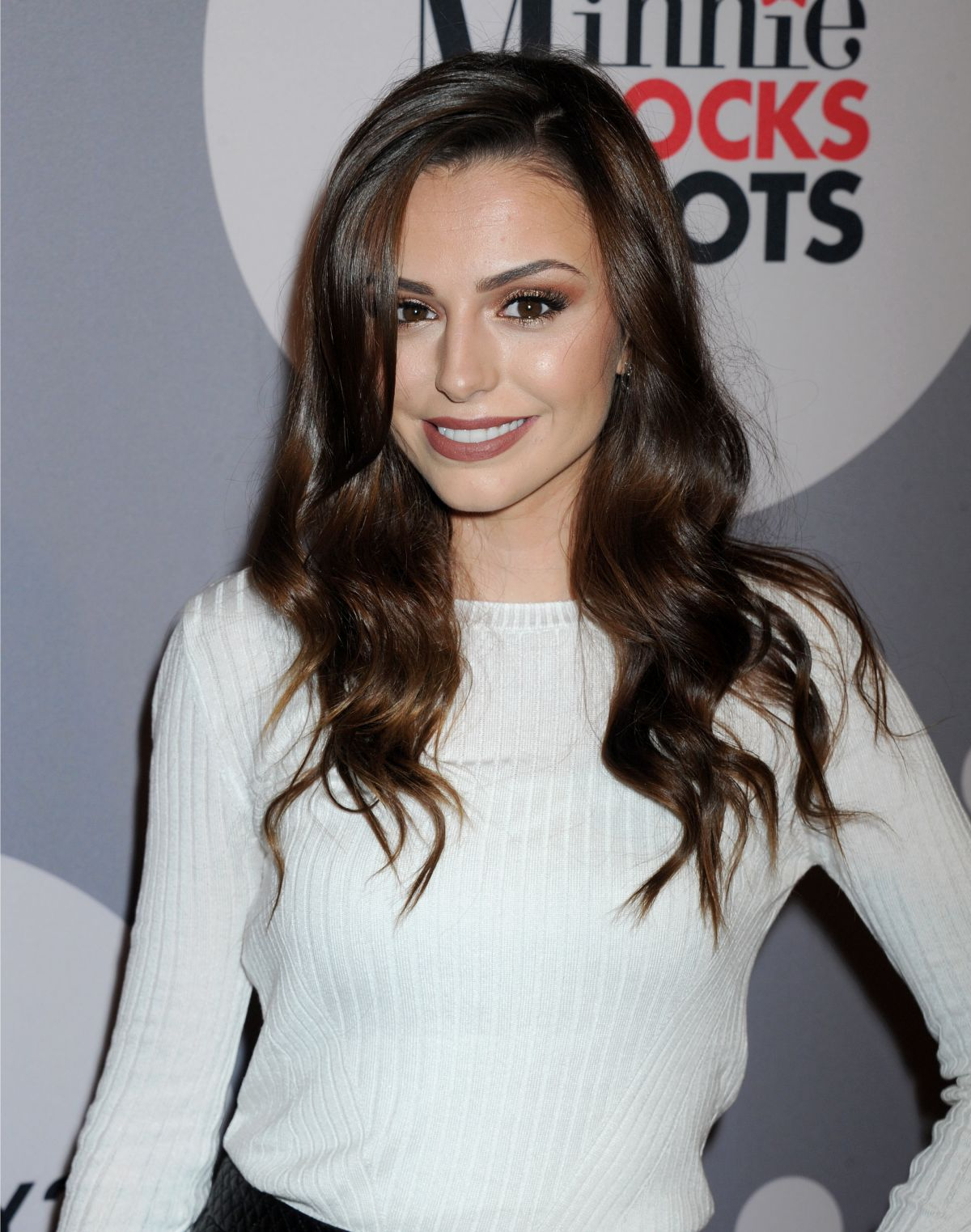 CHER LLOYD at Minnie Mouse Rocks the Dots Art and Fashion Exhibit in Los Angeles 01/22/2016