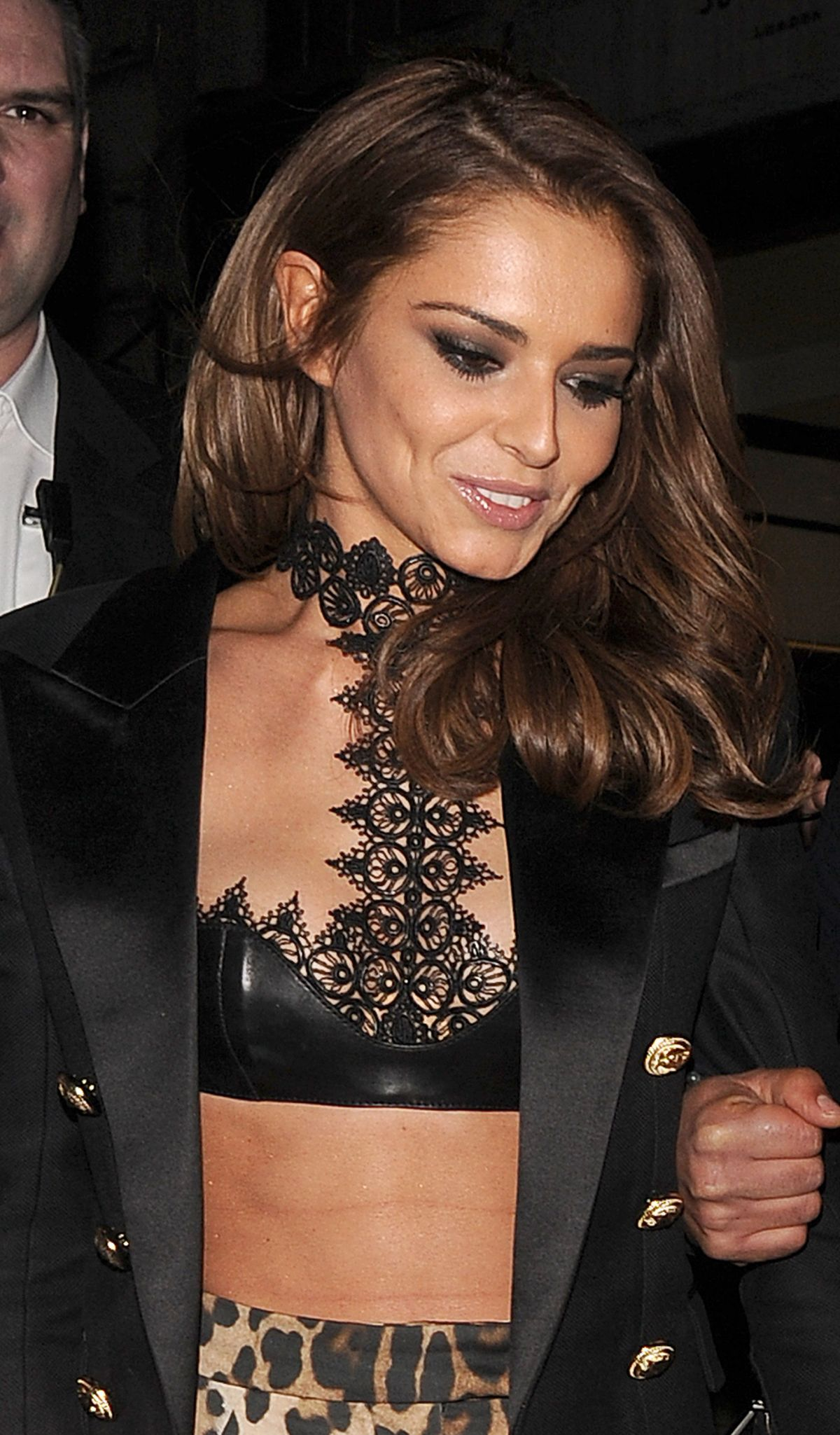 CHERYL COLE Arrives at Kimberley Walsh's Hen Party in ... Cheryl Cole
