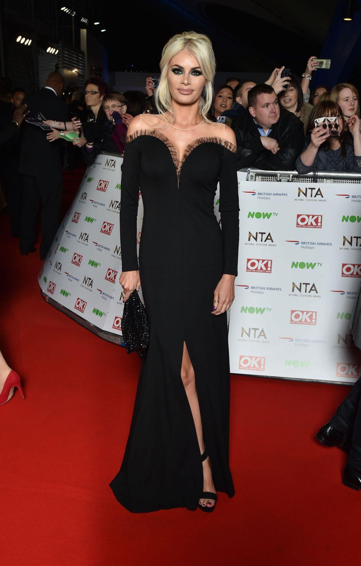 CHLOE SIMS at 2016 National Television Awards in London 01/20/2016