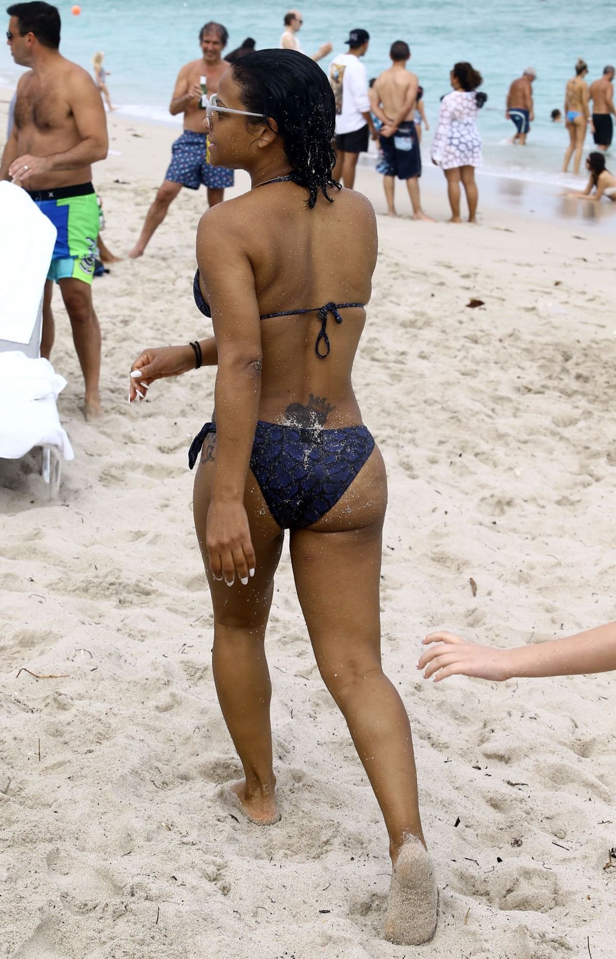 Christina milian beach video clips 9