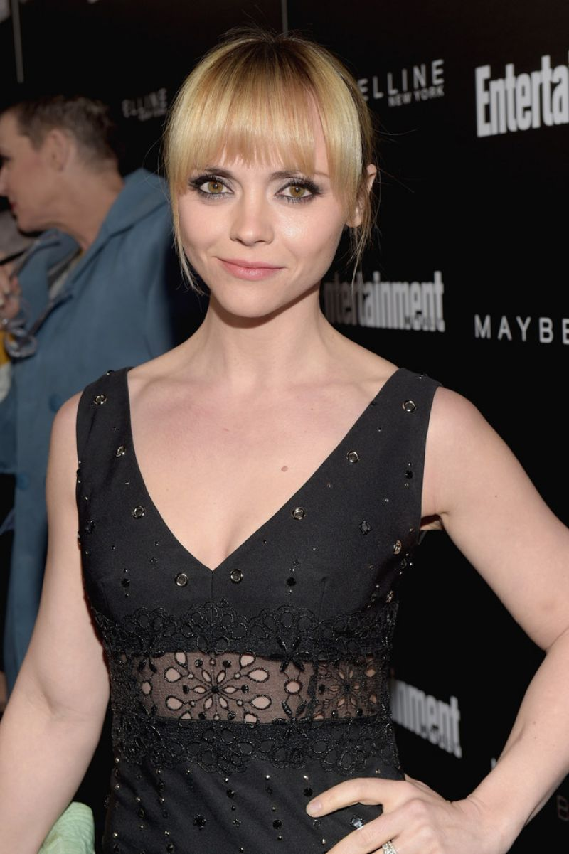 CHRISTINA RICCI at EW Celebration Honoring the Screen Actors Guild ...