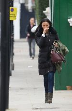 CHRISTINE BLEAKLEY Out and About in London 01/29/2016