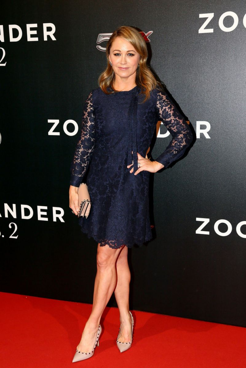 CHRISTINE TAYLOR at Zoolander 2 Fan Screening in Rome 01/30/2016