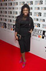 CLARA AMFO at Brit Awards 2016 Nominations Launch in Waterloo 01/14/2016